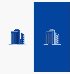 skyscraper architecture buildings business office vector image
