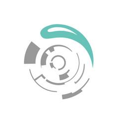 water technology logo design concept vector image