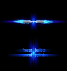 Bullets collision vector