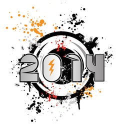 dub step 2014 vector image vector image