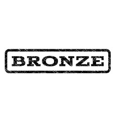 Bronze watermark stamp vector