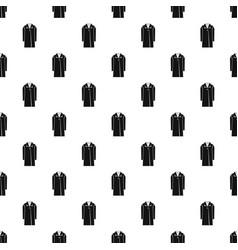 Coat pattern vector