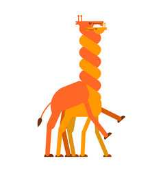 Giraffe sex love giraffes intercourse animal vector