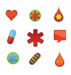 Medic symbols vector
