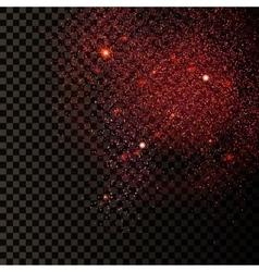 Ruby Confetti Background 1 vector image