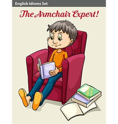 The armchair expert vector