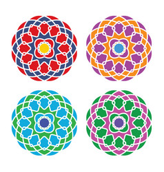 arabic ornament vector image
