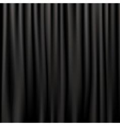 Silk curtains vector