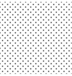 black star seamless background vector image vector image