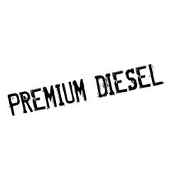 Premium diesel rubber stamp vector