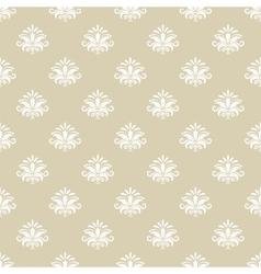 Vintage pattern seamless background vector image