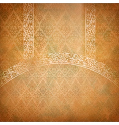 Vintage lace banner vector image
