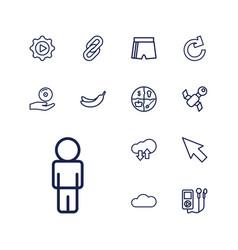 13 app icons vector