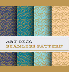 art deco seamless pattern 47 vector image
