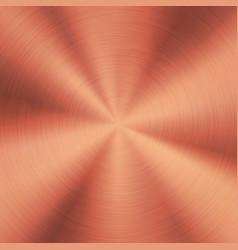 bronze metal background vector image
