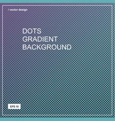 color gradient halftone background dots texture vector image