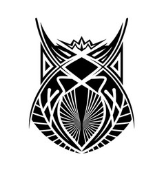 ethnic tattoo 0005 vector image