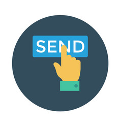 Hand send vector