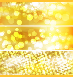 The template for Beautiful gold background vector