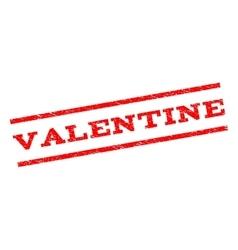 Valentine Watermark Stamp vector image