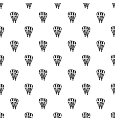 Balloons pattern simple style vector