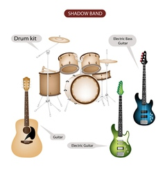 Band Music Equipment vector image