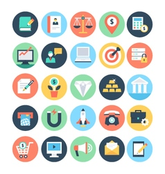 Business and SEO Icons 2 vector image