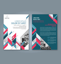 Cover annual report 878 vector