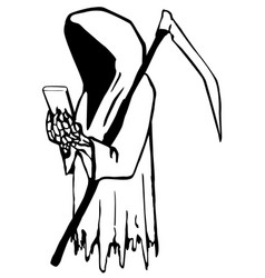 Death using phone vector