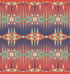 ethnic print aztec navajo seamless pattern vector image
