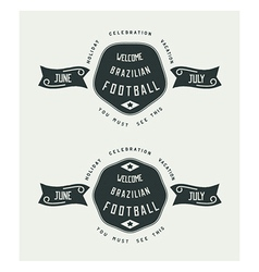 icons vintage style vector image