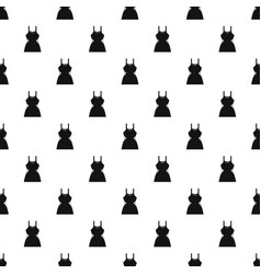 Little dress pattern vector