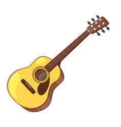 music instrument - guitar vector image