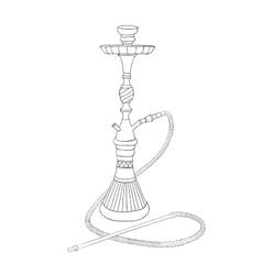 Nargila Sketch vector