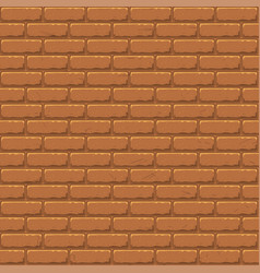 seamless texture brick stonewall background vector image