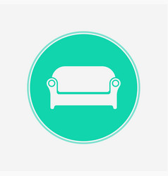 sofa icon sign symbol vector image