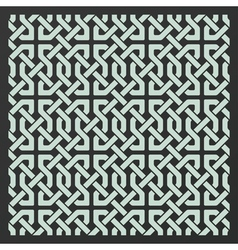 Decorative seamless islamic ornament background vector image vector image