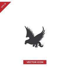 falcon bird icon vector image