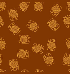 house heating seamless pattern vector image