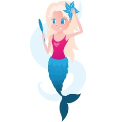 Little mermaid vector