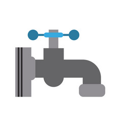 water faucet icon image vector image