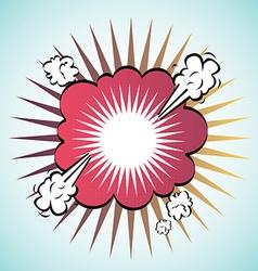 bubble design vector image