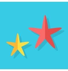 Cheerful Cute Starfishe vector image