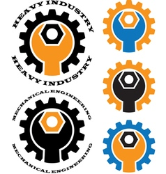 mechanical engineering vector image vector image