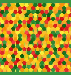 Multicolor pentagon pattern seamless geometric vector