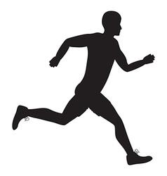side runner vector image vector image