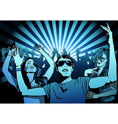 Dancing People vector image