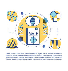 Maths courses article page template algebra vector