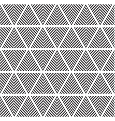 modern abstract geometry pattern triangle black vector image