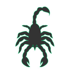 Scorpion as scorpio vector
